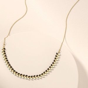 Stella & Dot Sarees Necklace - 2 in 1